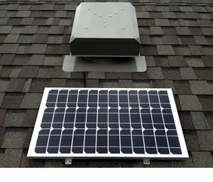 Commercial Grade Solar Fans