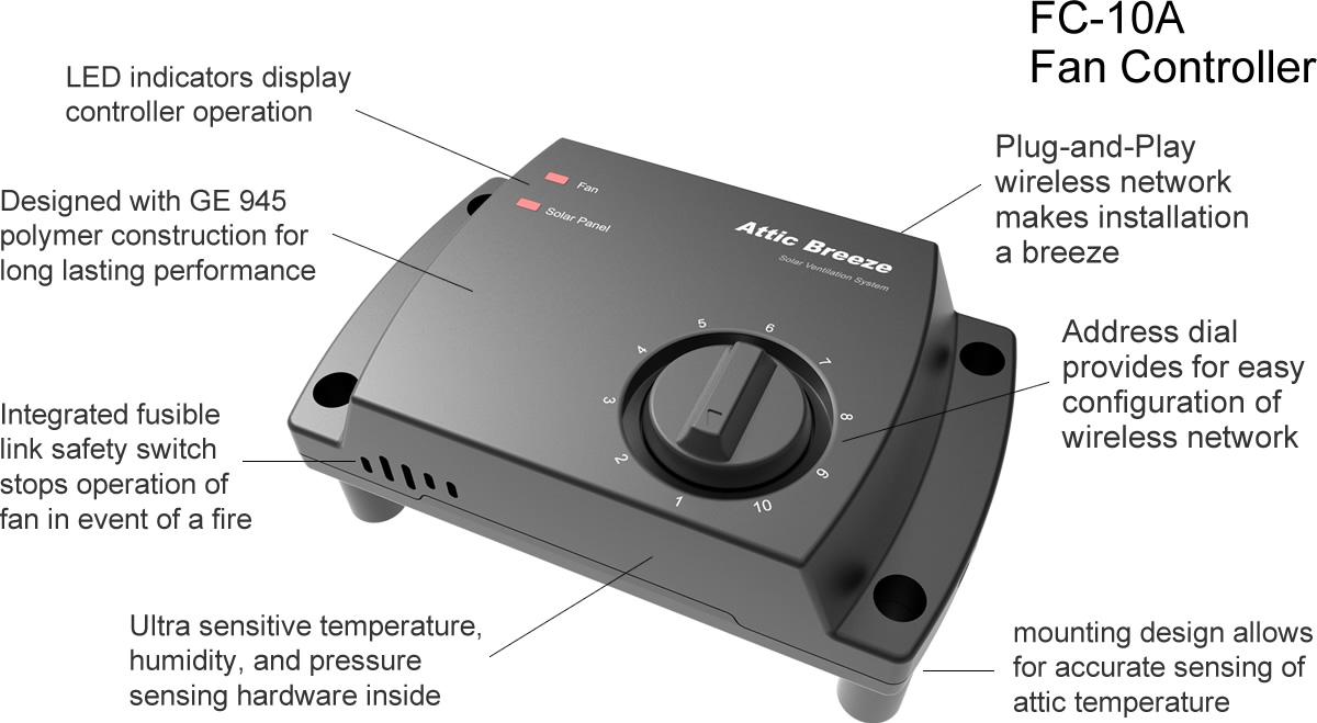 Fan Controller Composit on Attic Fan Thermostat Wiring Diagram