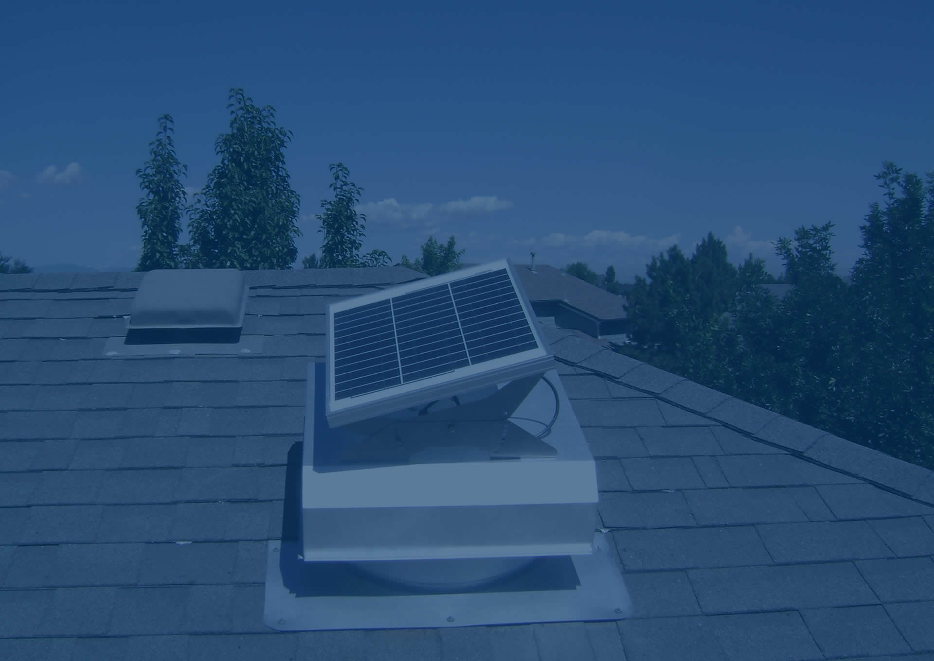 Can you vent bathroom fan into attic - Installing A Solar Gable Fan Solar Roof Vent Or Solar Attic Fan Is The